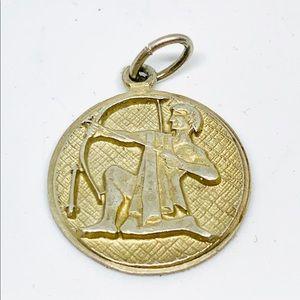 Jewelry - Sterling Silver Vtg Siam Sagittarius Zodiac Charm